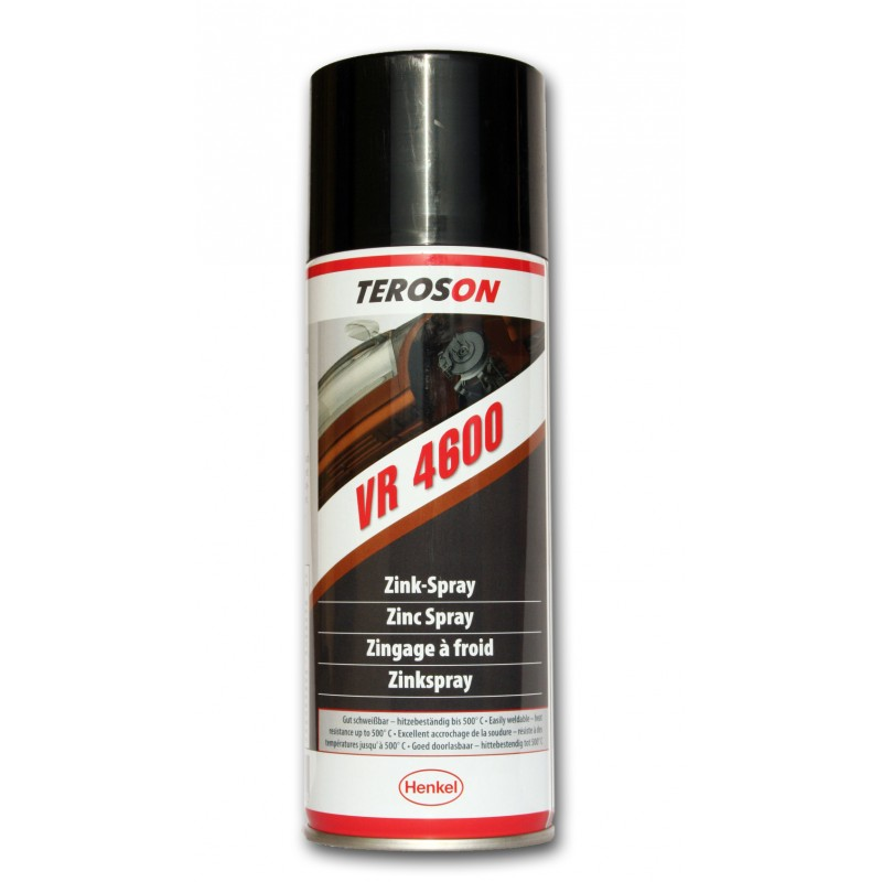 teroson vr 4600 zink spray 400 ml technikaria. Black Bedroom Furniture Sets. Home Design Ideas