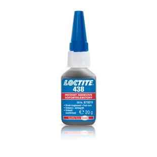 LOCTITE 438 - wzmocniony, czarny klej błyskawiczny